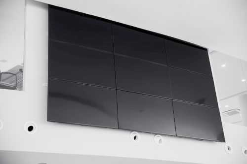Video Wall in an office